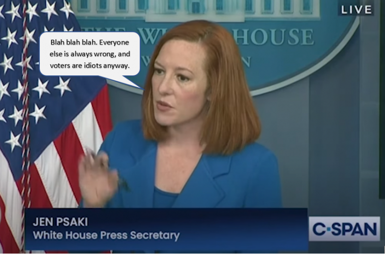 Psaki Lying About ImmigCap