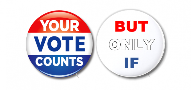 Voting Buttons Header